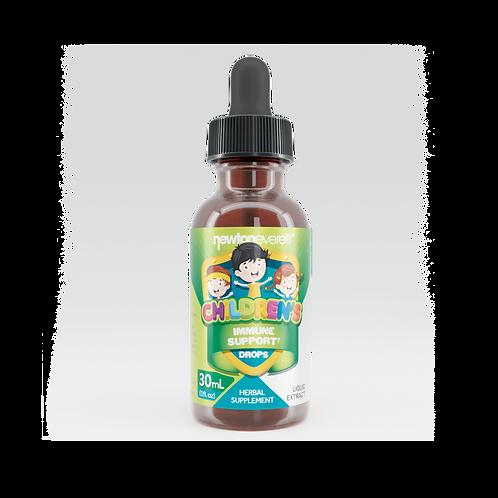 CHILDREN'S IMMUNE SUPPORT LIQUID DROPS (Alcohol Free) (1oz) 30ml