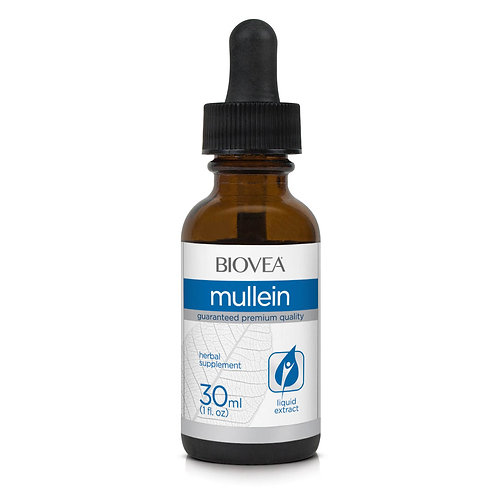 MULLEIN LIQUID DROPS (1oz) 30ml