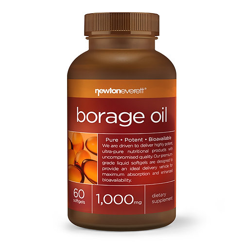 BORAGE OIL 1000mg 60 Softgels