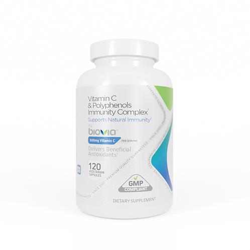 VITAMIN C & Polyphenols Immunity Complex 120 Capsules