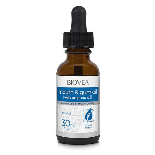 MOUTH AND GUM OIL with Oregano Oil (1 fl oz) 30ml