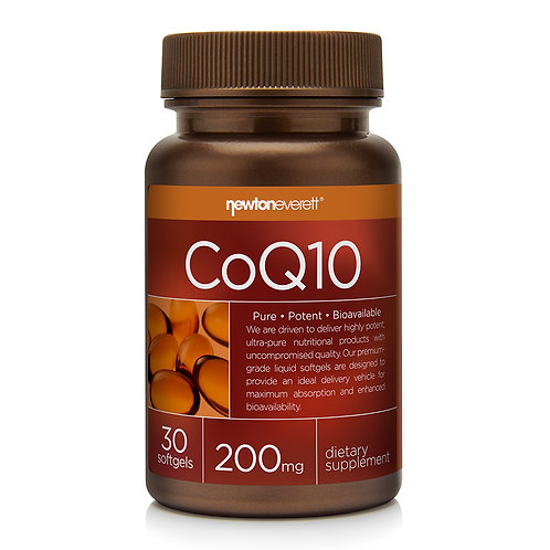 COQ10 200mg 30 Softgels