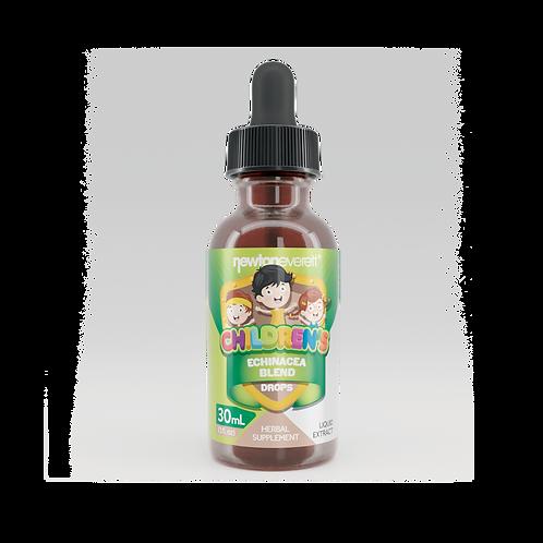 CHILDREN'S ECHINACEA BLEND LIQUID DROPS (Alcohol Free) (1oz) 30ml