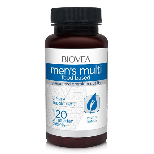 MEN'S MULTIVITAMIN (FOOD BASED) 120 Tablets
