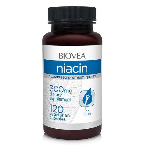 NIACIN 300mg 120 Vegetarian Capsules