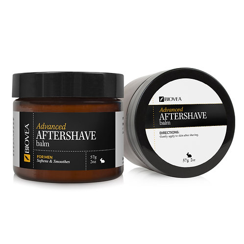 ADVANCED AFTERSHAVE BALM (Organic) (2oz) 60ml