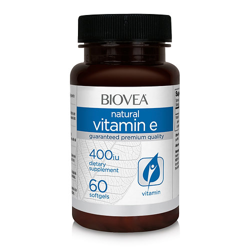 VITAMIN E 400 IU 60 Softgels