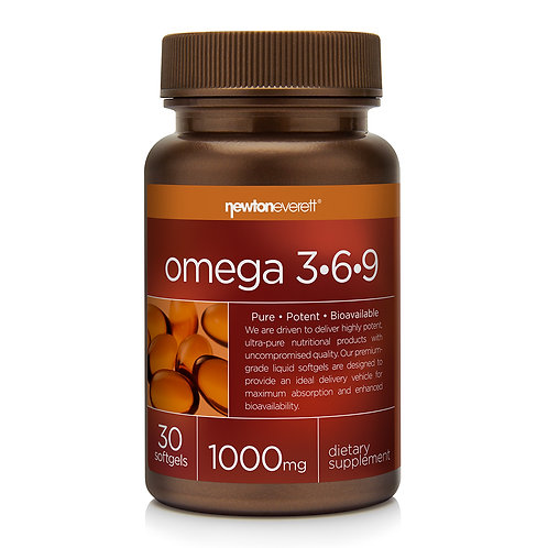 OMEGA 3-6-9 30 Softgels