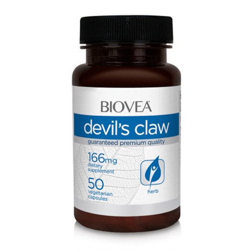 DEVIL'S CLAW 166mg 50 Capsules