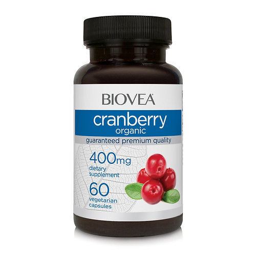 CRANBERRY (Organic) 400mg 60 Capsules