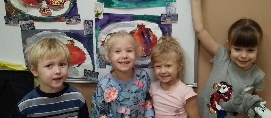 Занятия рисованием для детей в ДИВОГОРОДЕ