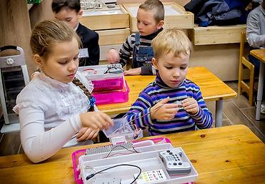 Лагерь детский Робототехника