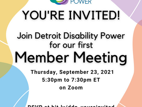 Attention Members! You're Invited!