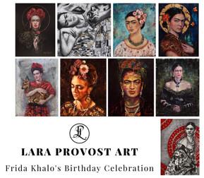 Frida Khalo's Birthday Celebration - 15% OFF
