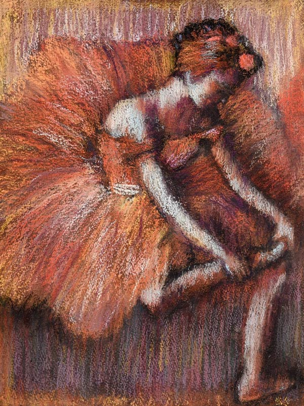 """""""Dancer"""" in the style of Degas"""