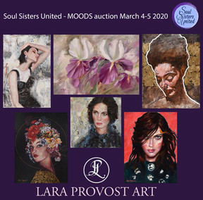 """""""MOODS"""" Online Auction - March 4th-5th"""