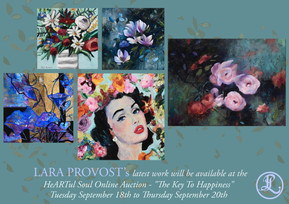"""""""The Key To Happiness"""" - September Online Auction"""
