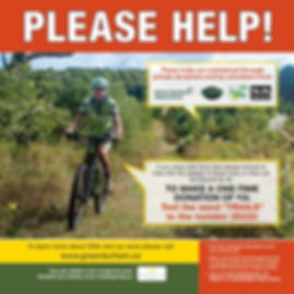 2019 Donate by texting image of cyclist.