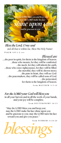 blessings (shine upon you)