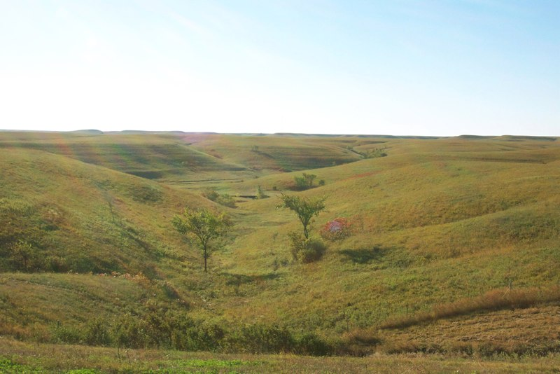 Fall in the Flint Hills