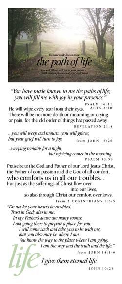 Life (path of life)