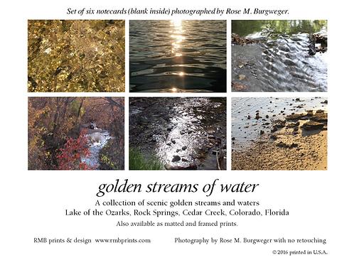 Golden Streams of Water