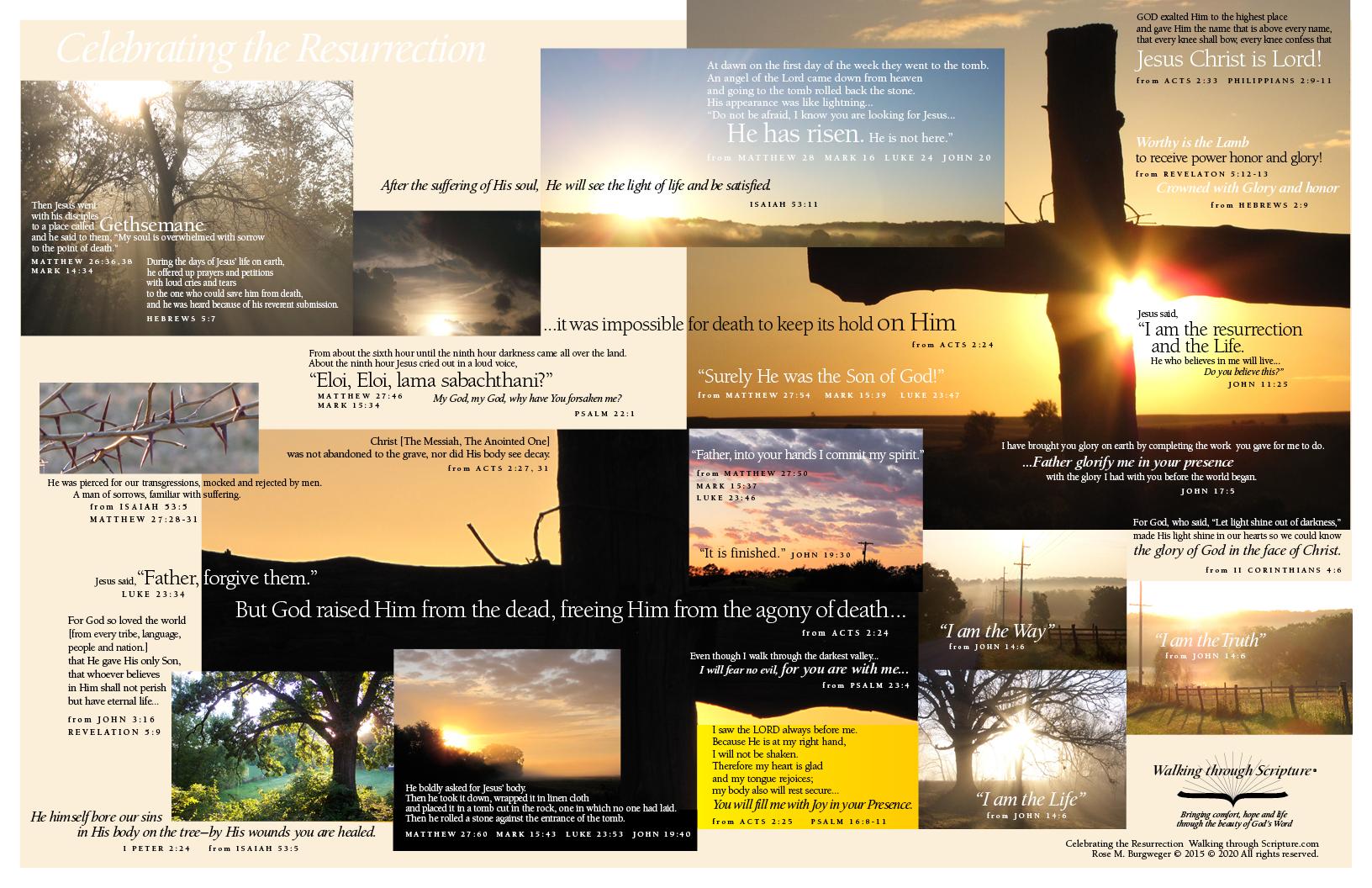 Celebrating the Resurrection RMB prints
