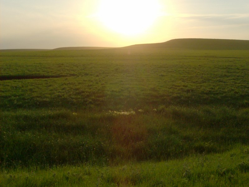 Sunset in the Flint Hills