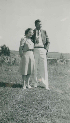 Carl Anderson and Wife