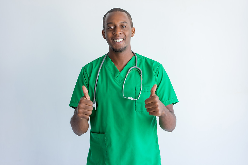 A doctor providing beneficial information and healthcare advice.