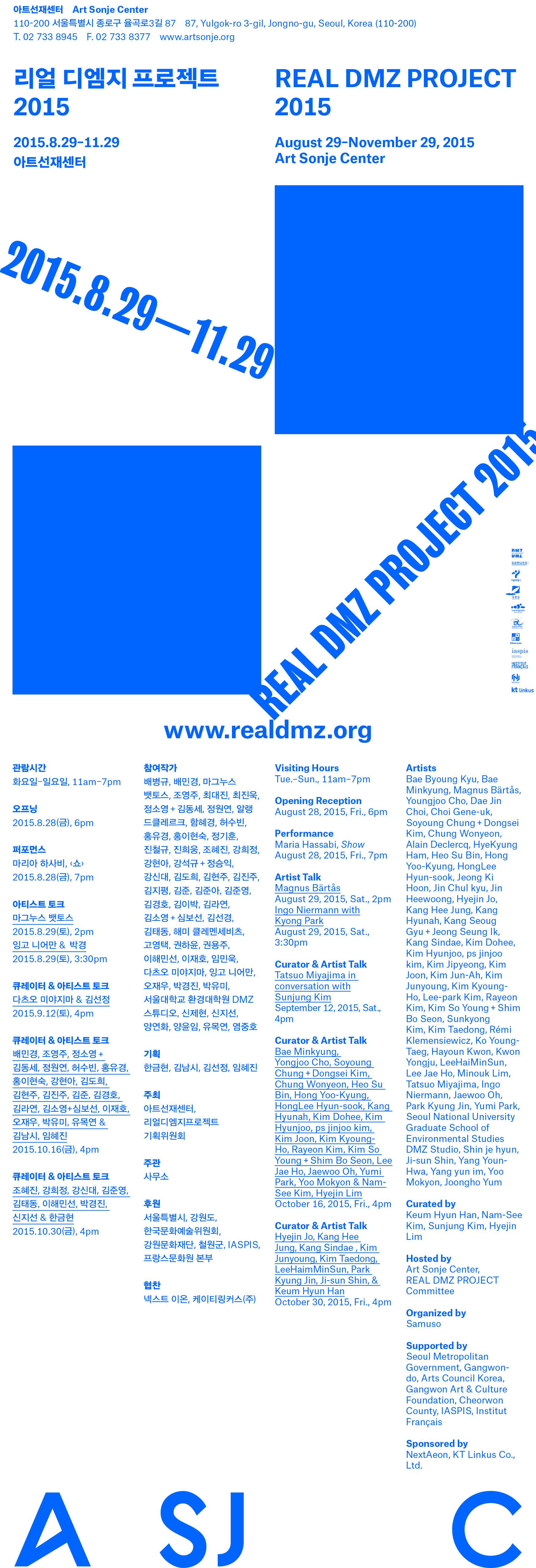 리얼 디엠지 프로젝트 2015