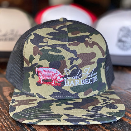 Brisket Hunt Embroidered Trucker Hat