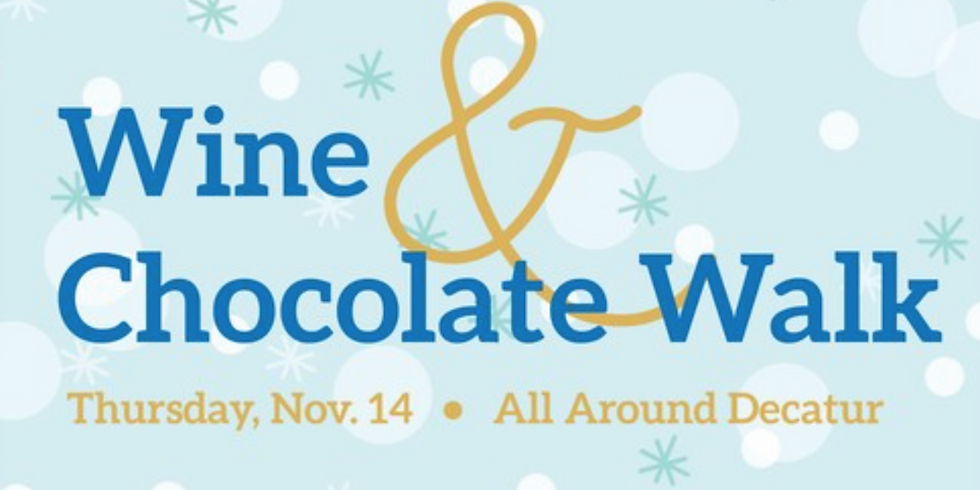 Terrific Thursdays: Wine & Chocolate Walk