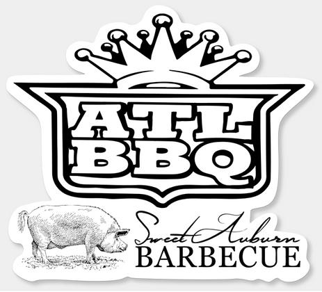 Outkast BBQ Sticker