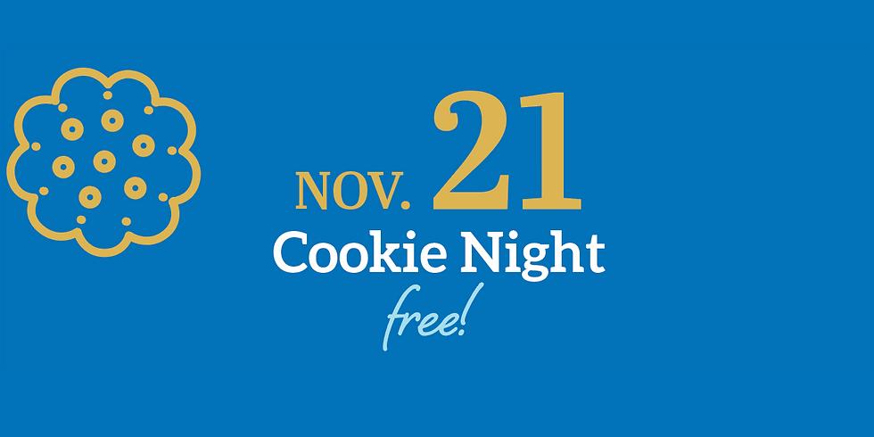 Terrific Thursdays: Cookie Night