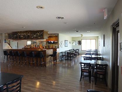 Dock 44 Restaurant Dining Area, Bar
