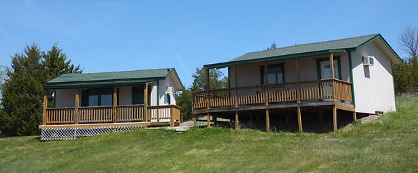 Cabin 1 and Cabin 2 $99 Nightly