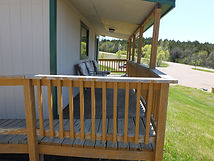 Cabin 2 Front Deck