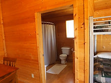 Cabin 2 Bathroom and Shower