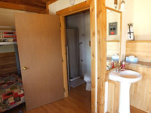Cabin 1 Bathroom and Shower