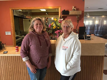Anita Beck and Esther Moser, The new owners of Dock 44 Marina