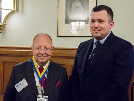 ExFor+ C.I.C. CEO with the Worshipful Mayor of Bournemouth at the House of Commons Launch event