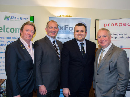 ExFor+ C.I.C. Launch from House of Commons and Newest Team Member Alexander Blackman