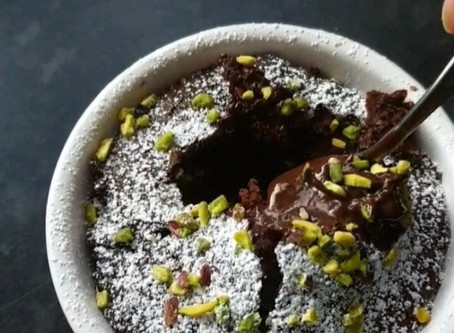 Vegan and Gluten Free Gooey Chocolate Fondant
