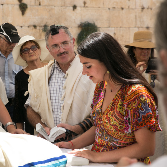Bar Mitzvah at the Western wall