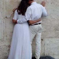 Wedding photo at the Kotel