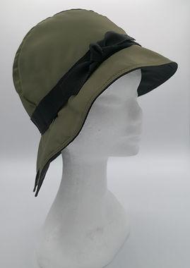 cappello pioggia verde banda nera (6).jp