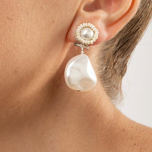 Orecchino perla