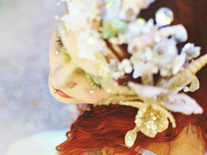 Meerjungfrau Muschel - Krone