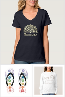 Kleidung energetisch t-shirt sweater namaste chakra online kaufen schweiz heilige geometrie
